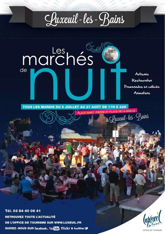 March nocturne le mardi a luxeuil les bains 70 - Office de tourisme luxeuil les bains ...
