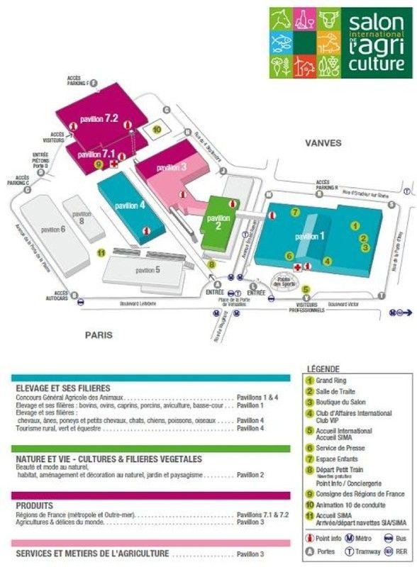 Infos tourisme for Porte de versailles salon agriculture